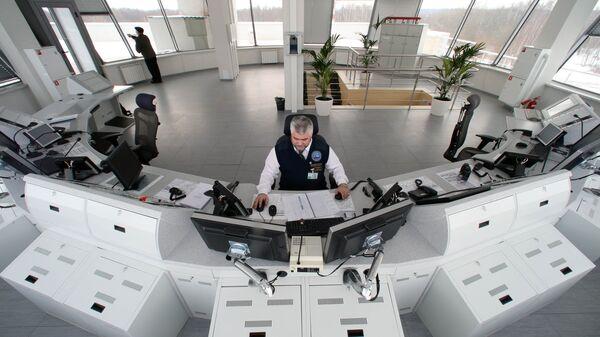 Диспетчерский центр аэропорта Храброво. Архивное фото