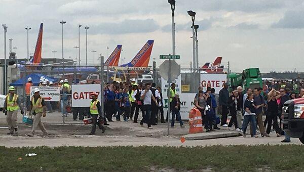 Ситуация в аэропорту Форт-Лодердейл в штате Флорида, где произошла стрельба
