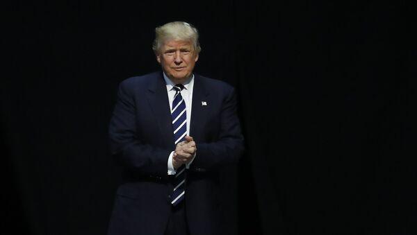 Избранный президент США Дональд Трамп. Архивное Фото.