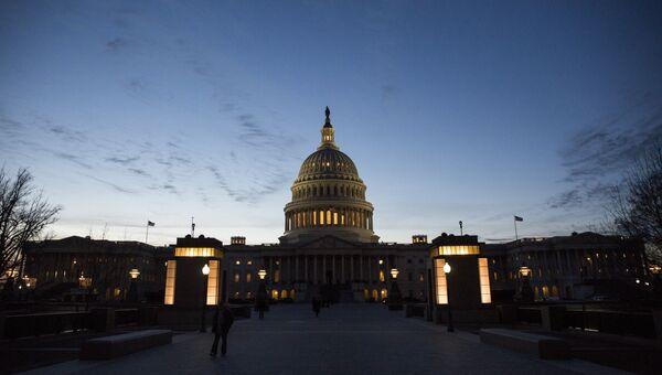 Здание Конгресса США на Капитолийском холме в Вашингтоне. 9 января 2017