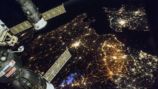 Вид на Землю с борта МКС. Архивное фото