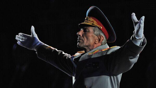 Главный военный дирижер ВС РФ Валерий Халилов. Архивное фото
