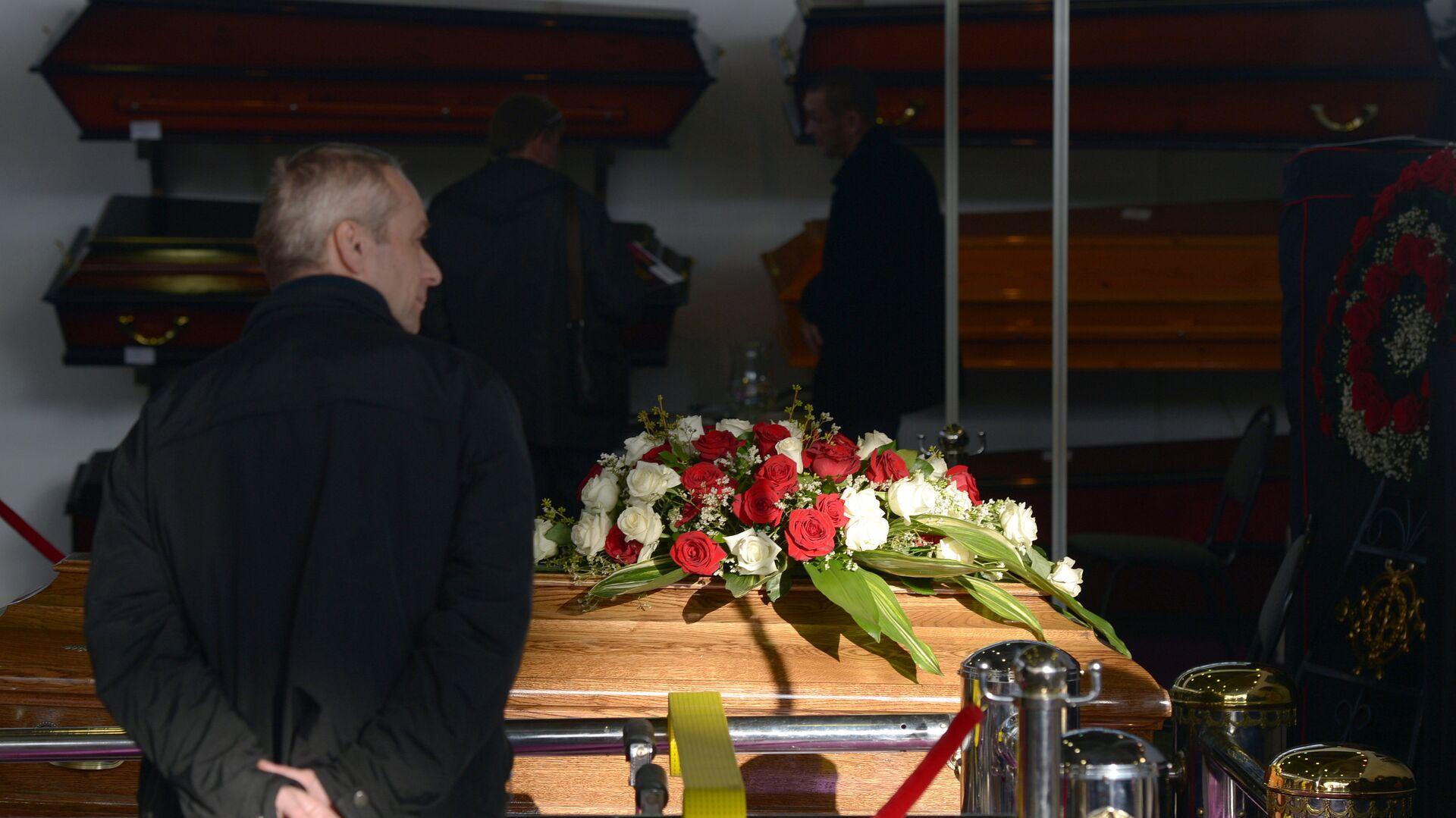 ХХI-я специализированная выставка похоронных услуг Некрополь-2013 - РИА Новости, 1920, 26.08.2021