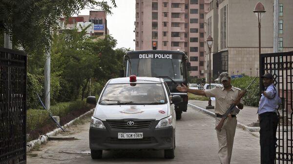 Сотрудники правоохранительных органов Индии. Архивное фото