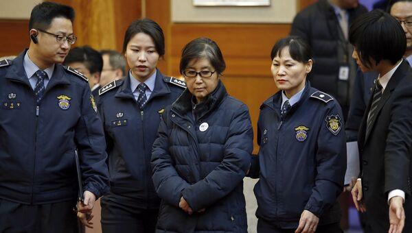 Цой Сун Силь в конституционном суде Южной Кореи. Архивное фото