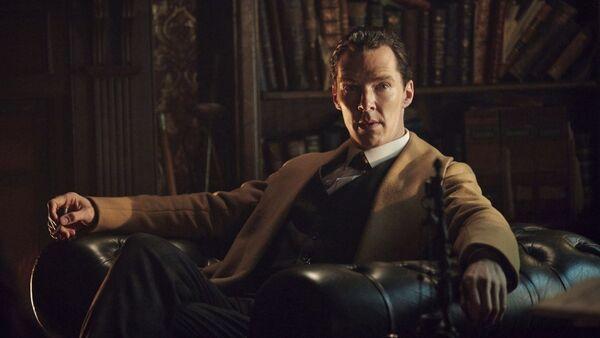 Кадр из сериала Шерлок
