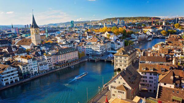 Цюрих, Швейцария. Архивное фото