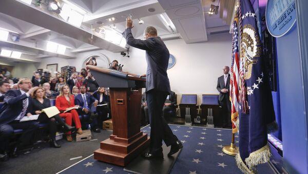 Последняя президентская пресс-конференция Барака Обамы