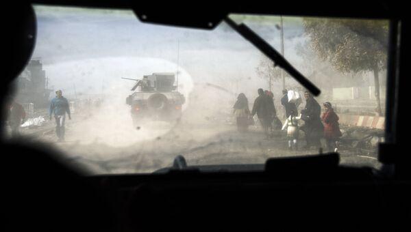 Военная техника в восточном Мосуле. Архивное фото