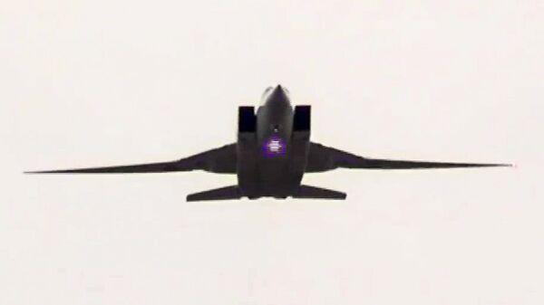 Сверхзвуковой стратегический бомбардировщик-ракетоносец ВКС РФ Ту-22М3