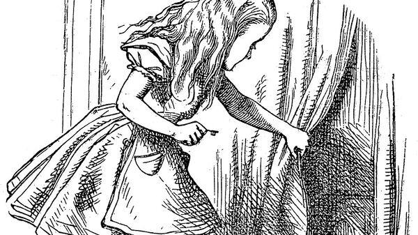 Иллюстрация Джона Тенниела к книге Алиса в стране чудес Льюиса Кэрролла
