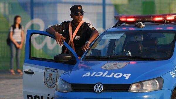 Полицейский автомобиль в Бразилии