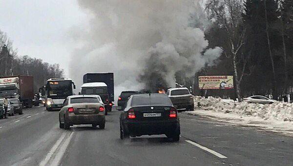 На месте ДТП в Новой Москве. 1 февраля 2017
