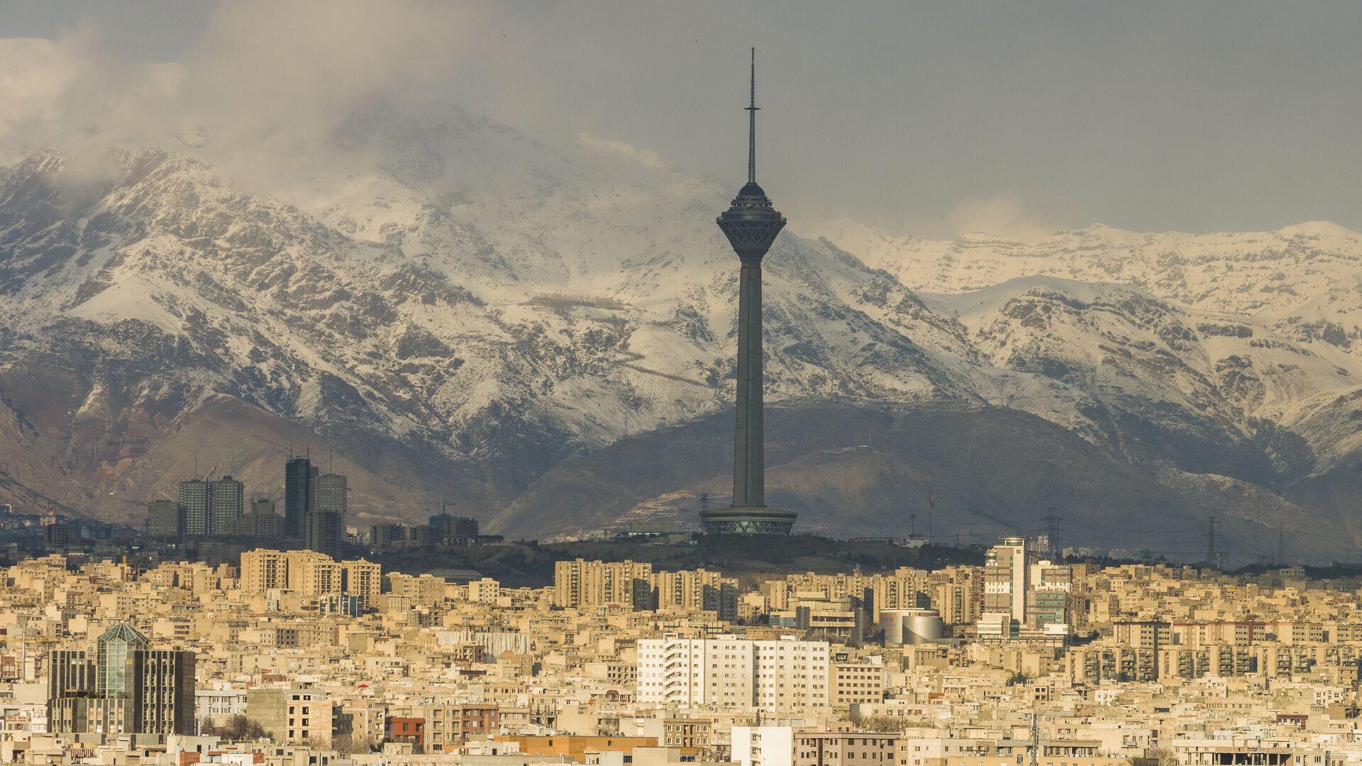 Панорама Тегерана, Иран - РИА Новости, 1920, 16.05.2021
