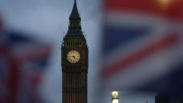 Биг Бен и здание Парламента в Лондоне, Великобритания. Архивное фото