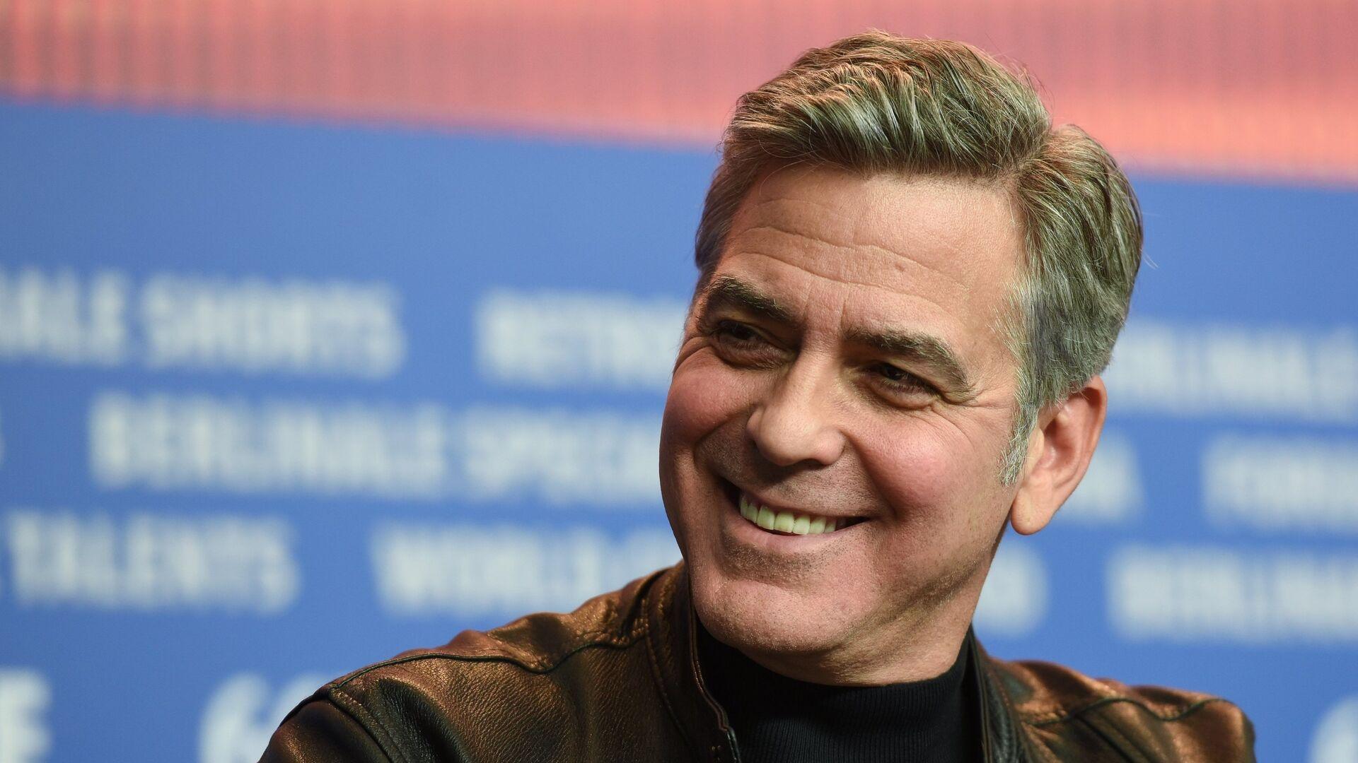 Актер Джордж Клуни - РИА Новости, 1920, 16.10.2020