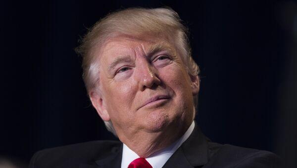 Президент США Дональд Трамп в Вашингтоне. 2 февраля 2017 года. Архивное фото