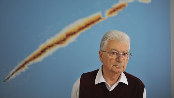 Юрий Оганесян, академик, научный руководитель лаборатории ядерных реакций имени Флёрова. Архивное фото