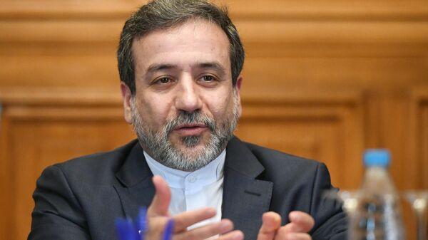 Заместитель министра иностранных дел Ирана Аббас Аракчи