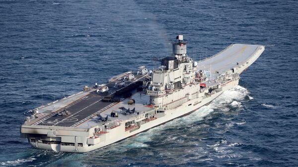 Российский тяжёлый авианесущий крейсер Адмирал Кузнецов
