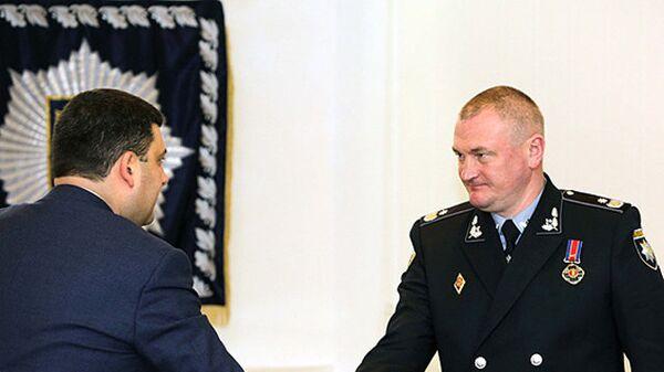 Владимир Гройсман и Сергей Князев