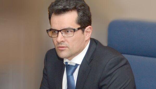 Первый заместитель председателя Внешэкономбанка Николай Цехомский. Архивное фото