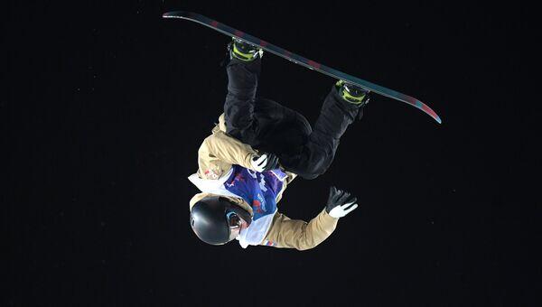 Российский сноубордист. Архивное фото