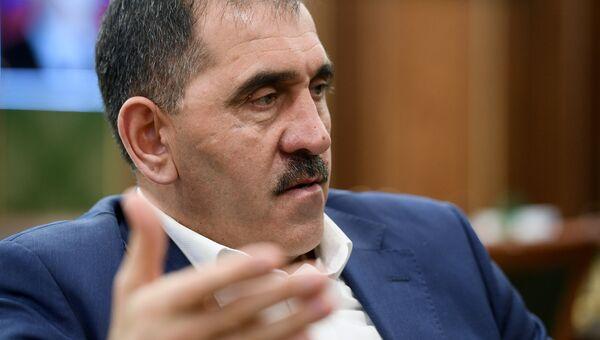 Глава Ингушетии Юнус-Бек Евкуров. Архивное фото