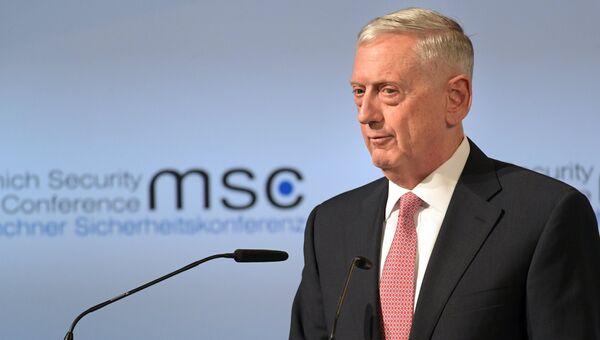 Министр обороны США Джим Мэттис. Архивное фото