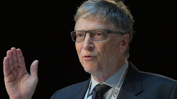 Бывший генеральный директор Microsoft Билл Гейтс на 53-й Мюнхенской конференции по безопасности