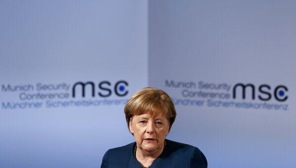 Ангела Мекрель на конференции по безопасности в Мюнхене