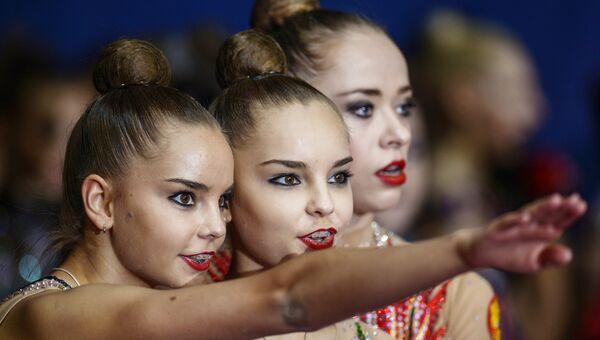 Российские спортсменки Дина и Арина Аверины. Архивное фото
