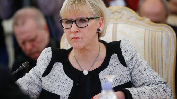 Министр иностранных дел Королевства Швеции Маргот Вальстрём