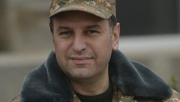 Министр обороны Армении Виген Саркисян. Архивное фото