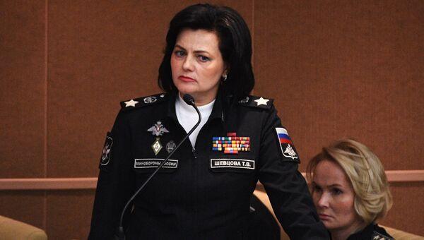 Заместитель министра обороны РФ Татьяна Шевцова. Архивное фото