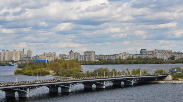 Чернавский мост в Воронеже. Архивное фото