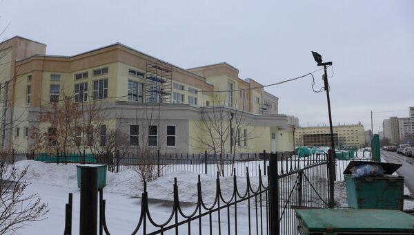 Строящийся ФОК на Марьинском бульваре в Москве
