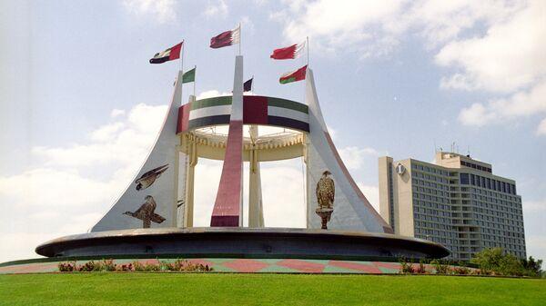 Памятник в честь создания ОАЭ