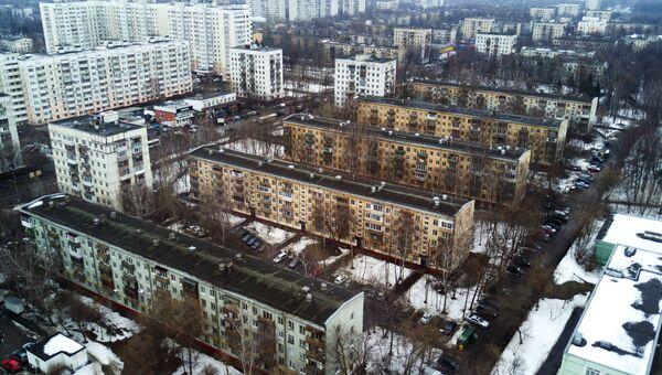 Пятиэтажные дома в Москве. Архивное фото