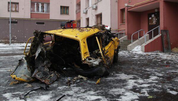 Киевский район Донецка после обстрела ВСУ. Архивное фото