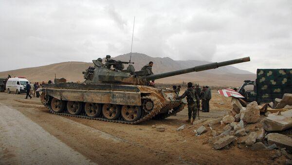 Военная техника сирийской армии. Архивное фото