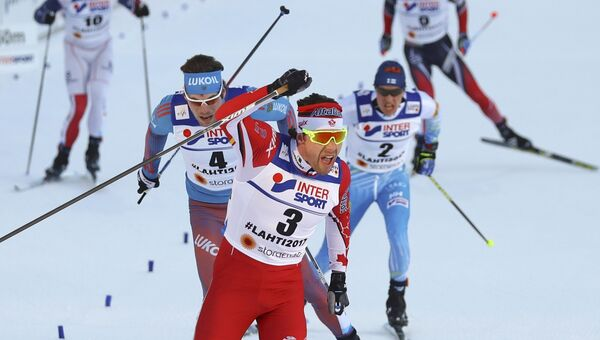 Российский лыжник Сергей Устюгов завоевал серебро в марафоне на 50 км на ЧМ в Лахти