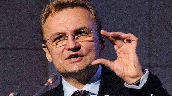 Лидер партии Самопомощь Андрей Садовой