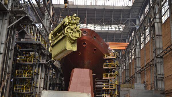 Корабль связи проекта 18280 — Иван Хурс. Архивное фото
