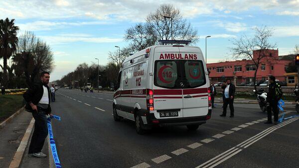 Машина скорой помощи в Турции. Архивное фото