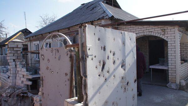 Ситуация в городе Стаханов в ЛНР. Архивное фото