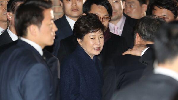 Отстраненная от власти президент Южной Кореи Пак Кын Хе. Архивное фото