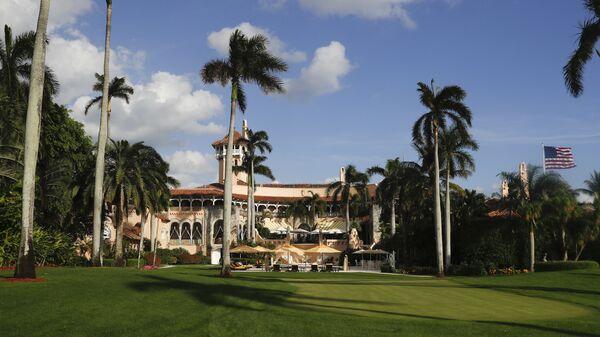 Резиденция Дональда Трампа Мар-а-Лаго в штате Флорида