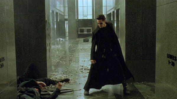 Кадр из фильма Матрица