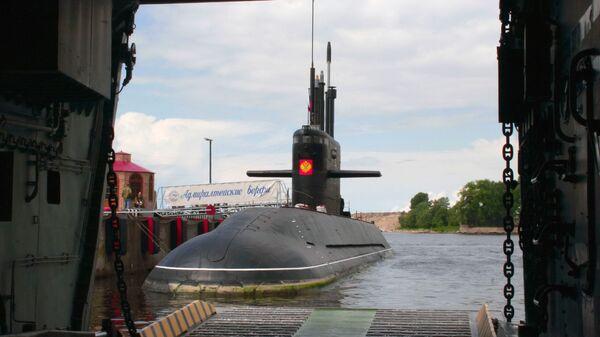 Дизельная подводная лодка Санкт-Петербург
